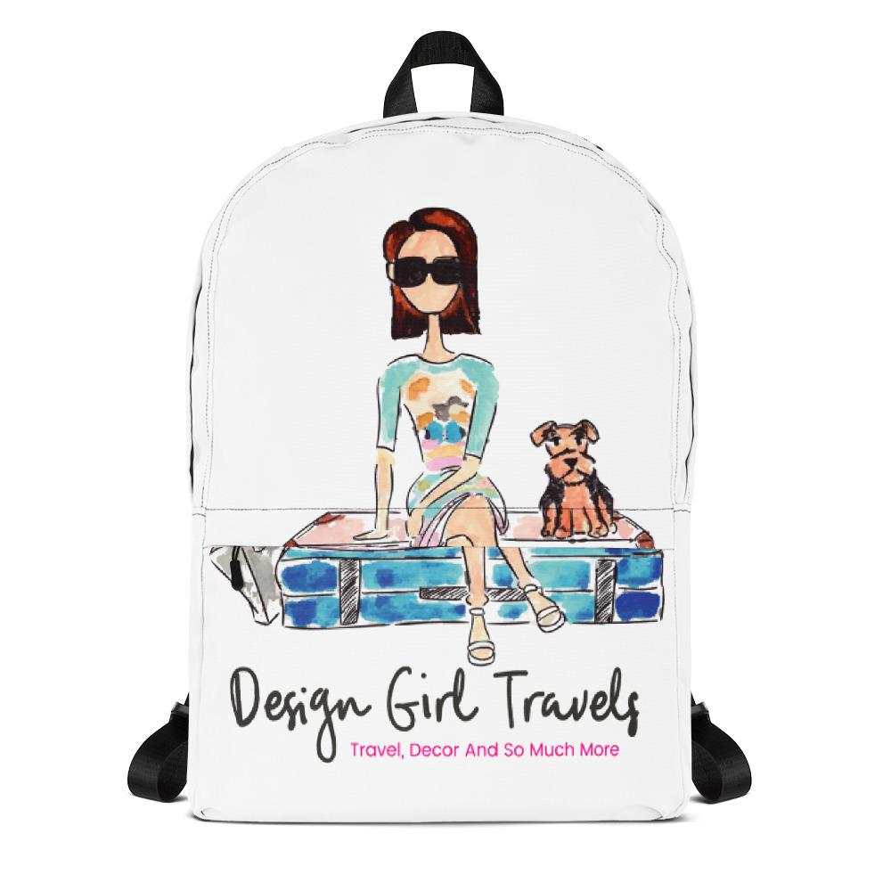 ae832f0e67 Design Girl Travels Backpack - Design Girl Travels